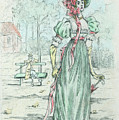 1801 Paris France Fashion Drawing by Movie Poster Prints