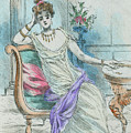 1804 Paris France Fashion Drawing by Movie Poster Prints