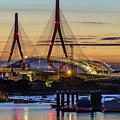 1812 Constutition Bridge From Rio San Pedro Puerto Real Spain by Pablo Avanzini
