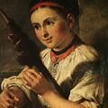 1820- Vasily Tropinin by Eloisa Mannion