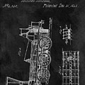 1845 Railroad Patent by Dan Sproul