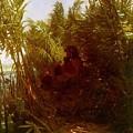 1856-57 Pan Amongst The Reeds Arnold Bcklin by Eloisa Mannion