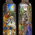 1857 Nativity Scene by Munir Alawi