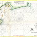 1859 U.s. Coast Survey Map Of Bull's Bay South Carolina by Paul Fearn