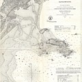 1859 U.s. Coast Survey Map Of Lynn Harbor, Massachusetts by Paul Fearn