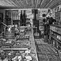 1860's Ore Assay Office Shop - Montana by Daniel Hagerman