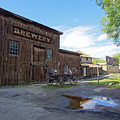 1863 H. S. Gilbert Brewery - Virginia City Ghost Town by Daniel Hagerman