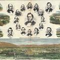 1866 Harpers Weekly View Of Salt Lake City Utah W Brigham Young Mormons by Paul Fearn