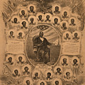 1868 Commemorative Photo Collage by Everett