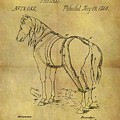 1868 Horse Harness Patent by Dan Sproul
