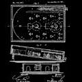 1871 Bagatelles Patent Drawing by Steve Kearns