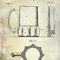 1873 Beer Mug Patent by Jon Neidert