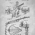 1873 Guitar Patent Blueprint by Dan Sproul