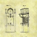 1876 Beer Cooler Patent by Dan Sproul
