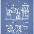 1877 Bottling Machine Patent - Light Blue by Aged Pixel