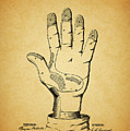 1878 Corn Husking Glove Patent by Dan Sproul