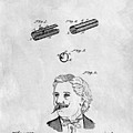 1879 Mustache Guard Patent by Dan Sproul