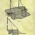 1882 Fishing Net Patent by Dan Sproul