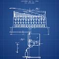 1884 Bottling Machine Patent - Blueprint by Aged Pixel