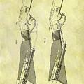 1884 Rifle Stock Patent by Dan Sproul