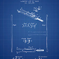 1885 Tuning Fork Patent - Blueprint by Aged Pixel