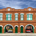 1887 Charleston Fire Station - 1 by Frank J Benz