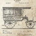 1889 Ambulance Patent by Dan Sproul