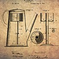 1889 Coffee Maker Patent by Dan Sproul