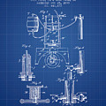 1890 Bottling Machine Patent - Blueprint by Aged Pixel