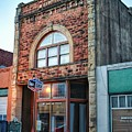 1890 Building Guthrie Ok by Buck Buchanan
