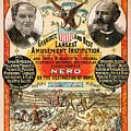 1890 - Circus Poster by Paul W Faust -  Impressions of Light