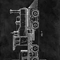 1891 Locomotive Engine Patent by Dan Sproul