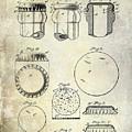 1892 Bottle Cap Patent  by Jon Neidert
