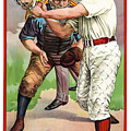 1895 In The Batters Box by Daniel Hagerman