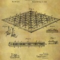 1896 Chess Set Patent by Dan Sproul