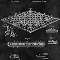 1896 Chessboard Patent by Dan Sproul
