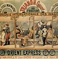 1896 Orient Express Musical Revue Paris by Aapshop