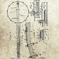 1897 Banjo Patent by Dan Sproul