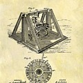 1897 Oil Rig Patent by Dan Sproul