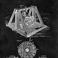 1897 Oil Well Rig Patent Design by Dan Sproul