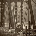1898 Trestle In Sepia by Imagery by Charly