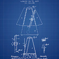 1899 Metronome Patent - Blueprint by Aged Pixel