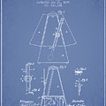 1899 Metronome Patent - Light Blue by Aged Pixel