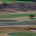 18th At Tpc San Antonio, Texas by Ed Gleichman