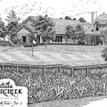 18th Hole - Deercreek Country Club by Lawrence Tripoli