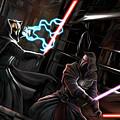 2 Star Wars Art by Larry Jones