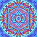 Birth Mandala- Blessing Symbols by Sandrine Kespi
