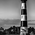 Bodie Island Lighthouse Obx Cape Hatteras North Carolina by Alex Grichenko