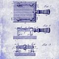 1900 Knife Switch Patent Blueprint by Jon Neidert