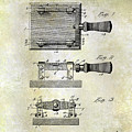 1900 Knife Switch Patent by Jon Neidert